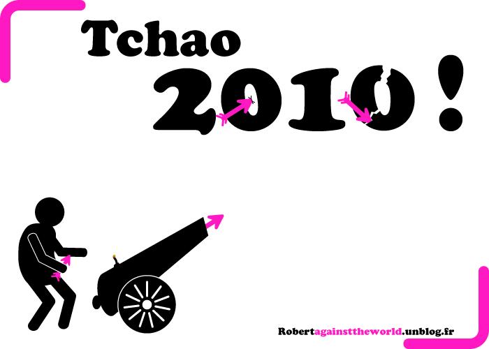 fin année 2010 nouvel an 2011